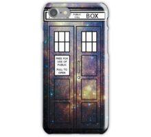 Galaxy TARDIS iPhone Case/Skin