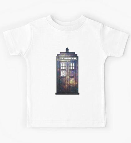 Galaxy TARDIS Kids Tee