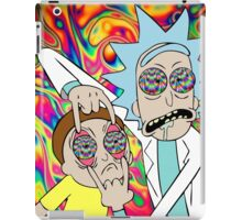 Psychedelic Rick and Morty  iPad Case/Skin