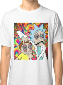 Psychedelic Rick and Morty  Classic T-Shirt