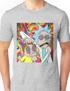 Psychedelic Rick and Morty  Unisex T-Shirt