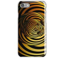 I Go In Circles by Julie Everhart iPhone Case/Skin