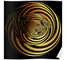I Go In Circles by Julie Everhart Poster