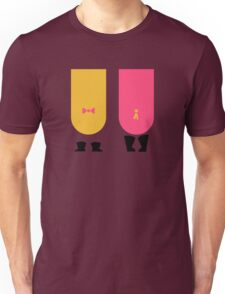 Snipperclips Silhouette Unisex T-Shirt