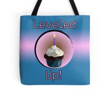 Leveled Up Cupcake Tote Bag
