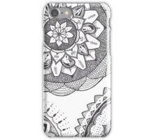 Tribal Flowers iPhone Case/Skin