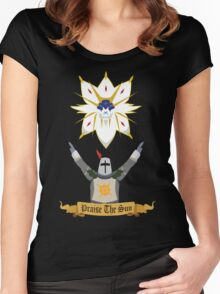Praise the Solgaleo Women's Fitted Scoop T-Shirt