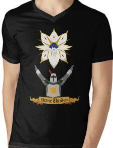 Praise the Solgaleo Mens V-Neck T-Shirt