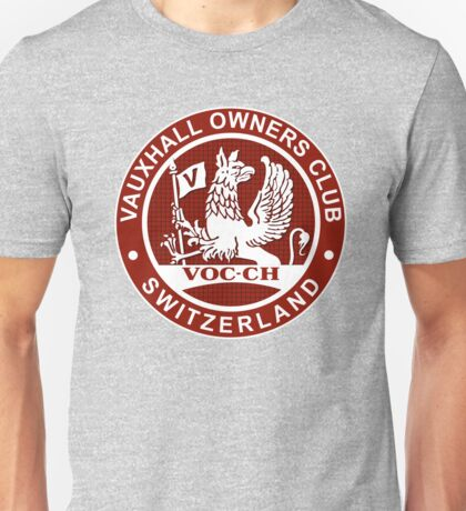 Vauxhall Owners Club Switzerland VOC-CH Unisex T-Shirt