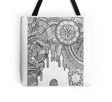 Tribal Disney Tote Bag