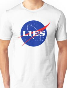 NASA LIES LOGO Unisex T-Shirt