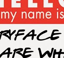 Hello, my name is.. {FULL} Sticker