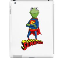 Kermit the Superman iPad Case/Skin