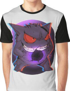 Pokemon - Gengar / Ghost Graphic T-Shirt