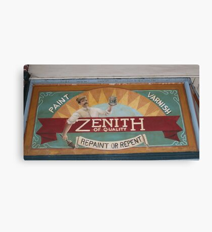 Zenith for Quality Canvas Print