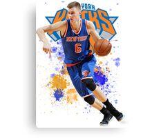 Kristaps Porzingis Case New York Knicks NYK Canvas Print