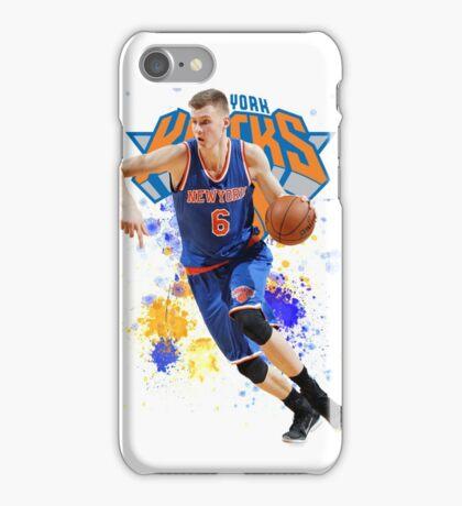 Kristaps Porzingis Case New York Knicks NYK iPhone Case/Skin