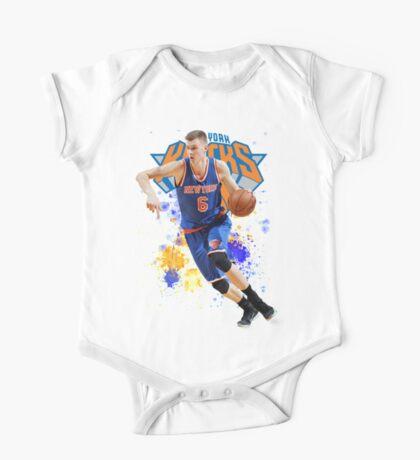 Kristaps Porzingis Case New York Knicks NYK One Piece - Short Sleeve