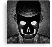 Drawlloween 2014: Mask Canvas Print