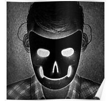 Drawlloween 2014: Mask Poster