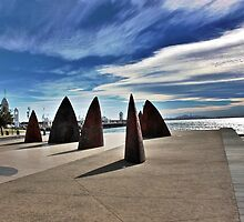 The Rusty Sails on the Geelong Foreshore by Ferenghi