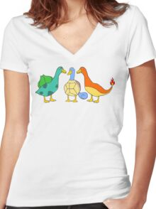 The Starters Women's Fitted V-Neck T-Shirt
