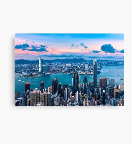 HONG KONG 03 Canvas Print