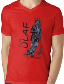 count olaf Mens V-Neck T-Shirt