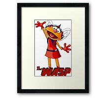 Zoe the Wasp Framed Print