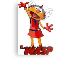 Zoe the Wasp Metal Print