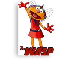 Zoe the Wasp Canvas Print