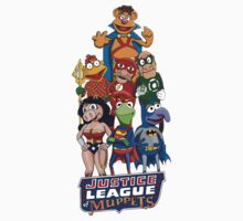 Justice League of Muppets Kids Clothes