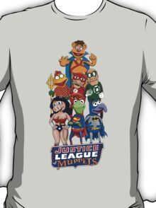 Justice League of Muppets T-Shirt