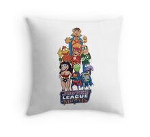 Justice League of Muppets Throw Pillow
