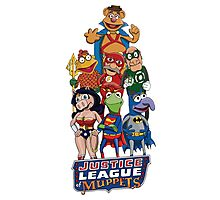 Justice League of Muppets Photographic Print