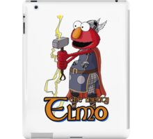 Elmo the Thor iPad Case/Skin