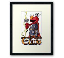 Elmo the Thor Framed Print