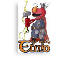 Elmo the Thor Metal Print