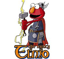 Elmo the Thor Photographic Print