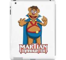 Fozzie Bear the Martian Manhunter iPad Case/Skin