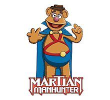 Fozzie Bear the Martian Manhunter Photographic Print