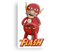 Waldorf the Flash Metal Print