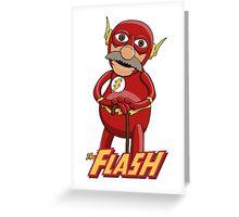 Waldorf the Flash Greeting Card
