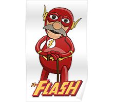 Waldorf the Flash Poster