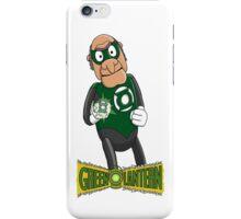 Statler the Green Lantern iPhone Case/Skin