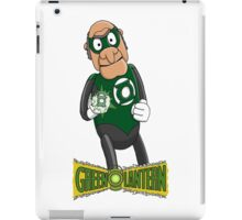 Statler the Green Lantern iPad Case/Skin