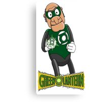 Statler the Green Lantern Canvas Print