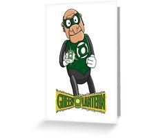 Statler the Green Lantern Greeting Card