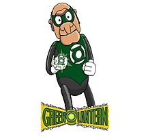 Statler the Green Lantern Photographic Print