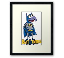 Gonzo the Batman Framed Print